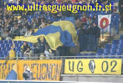 kop UG Clermont ultras gueugnon voile