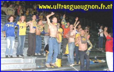 parcage UG ultras gueugnon fiesta clermont
